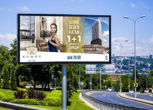 Billboard Tasarımı- Kuzu Grup / Kumru Ankara Projesi