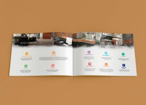 Katalog tasarımı - Benevre Beytepe Projesi