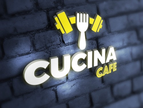Kafe Kurumsal Kimlik Konsepti - Cucina Cafe
