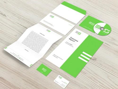 Logo ve Kurumsal Kimlik Tasarımı - E Soft