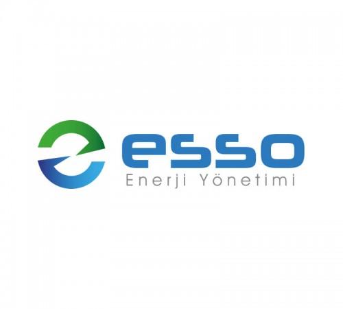 Enerji Sektörü Logo Tasarımı - Esso Enerji Yönetimi