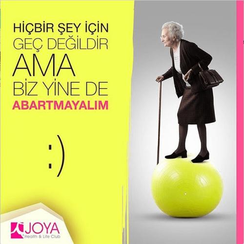 Sosyal Medya Uygulamaları- Joya Health & Life Club