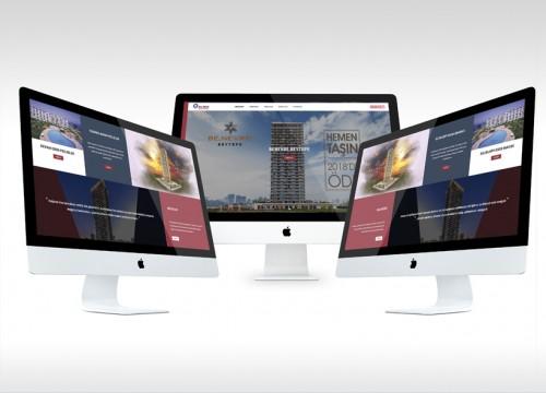 İnşaat firması web sitesi tasarımı ve özel kodlama - Elbiz İnşaat