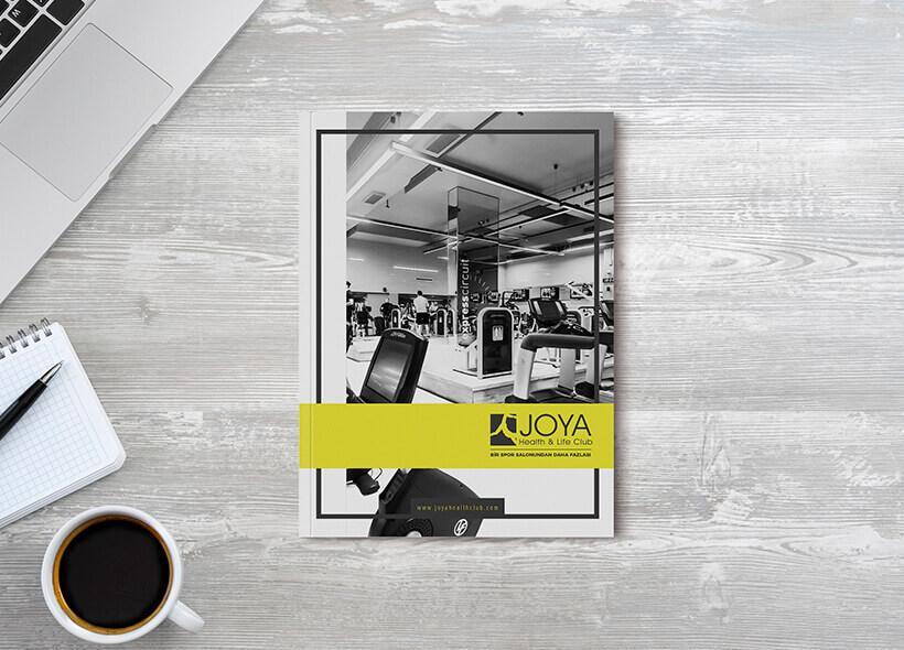 Kurumsal Kimlik Tasarımı - Joya Health & Life Club