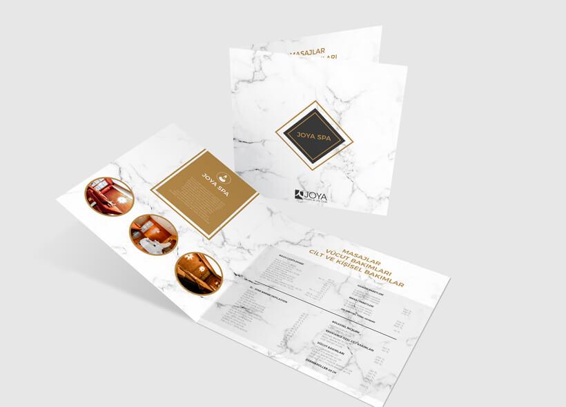 Broşür Tasarımı - Joya Health & Life Club