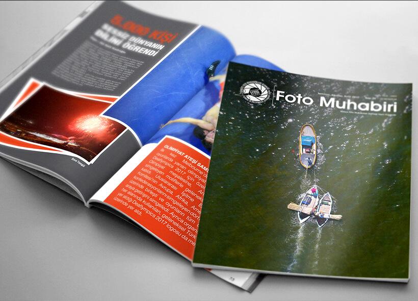 Dergi Tasarımı - Foto Muhabiri Dergisi