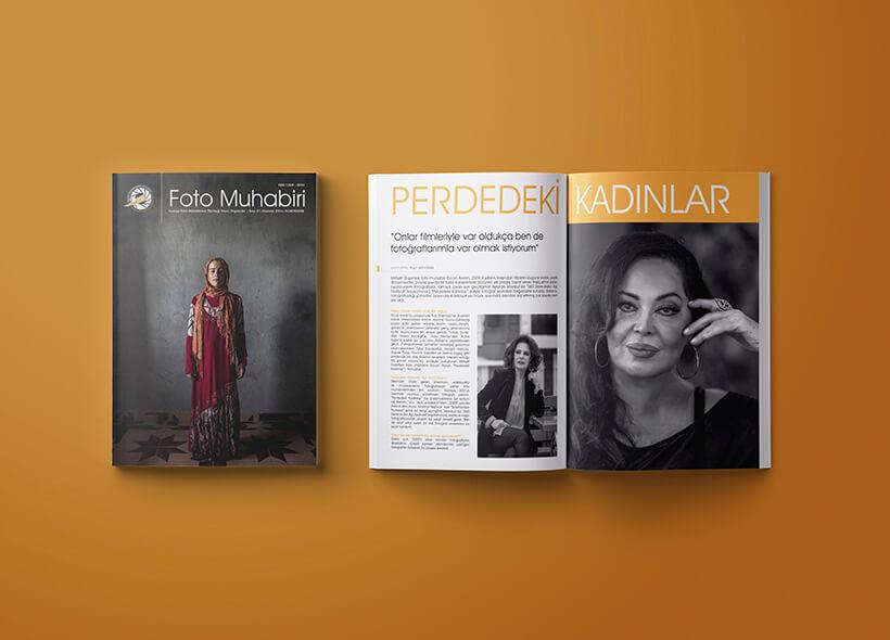 Dergi Tasarımı- Foto Muhabiri Dergisi