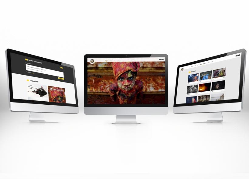 Özel yazılım web sitesi - Türkiye Foto Muhabirleri Derneği